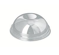 Крышка 270/350/420/500мл, d-95мм, купольная высокая для стакана/креманки СП (50 шт.)