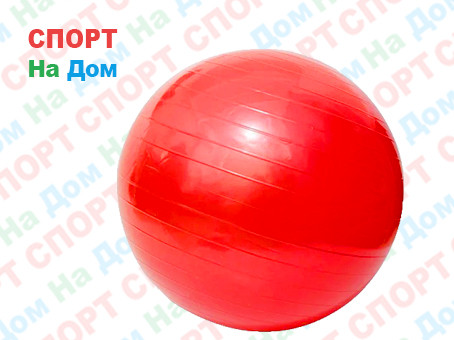 Мяч для фитнеса фитбол 65 см Raciness Gym Ball (цвет красный)