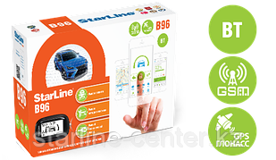 Автомобильная сигнализация StarLine B96 2CAN+2LIN GSM GPS