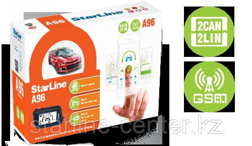 Автомобильная сигнализация StarLine A96 2CAN+2LIN GSM-GPS