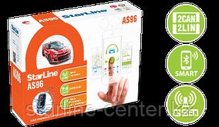 Автомобильная сигнализация StarLine AS96 BT 2CAN+4LIN GSM