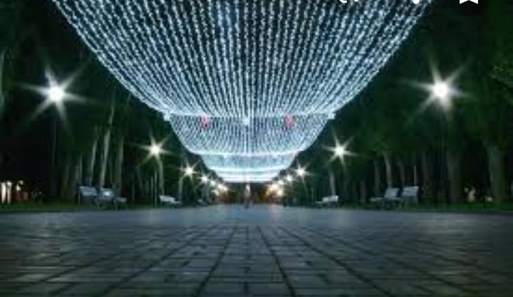 Гирлянда новогодняя, светодиодная нить 100 метров - фото 1