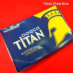 """Лезвия сменные """"Dorco Titan"""""""