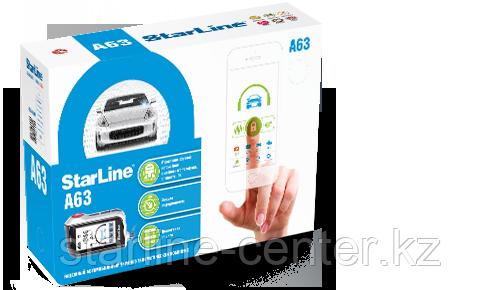 Автомобильная сигнализация StarLine A63