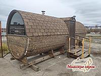 Баня Бочка Дуэт Wood 6000 Микс Pro, фото 1
