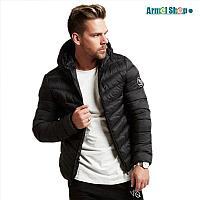 Зимняя куртка от VQ черная, фото 1