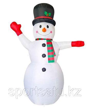 Надувная Новогодняя Фигура Снеговик 600 см, декор на улицу