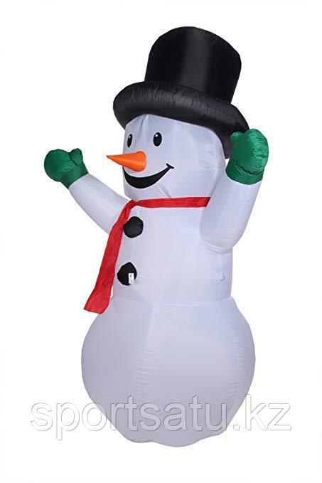 Надувная Новогодняя Фигура Снеговик 180 см