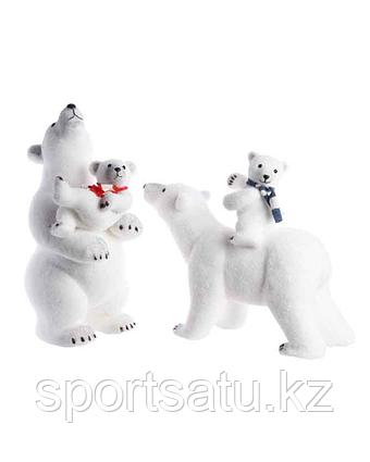 """Новогодняя фигура """"Белый медведь"""""""