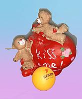Сувенир мишки с сердцем