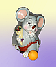 Сувениры-копилки, мыши.