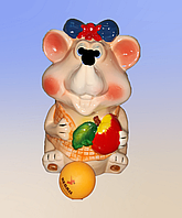 Сувениры-копилки, мышь.