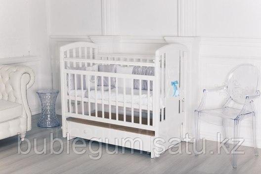 """Кровать детская Incanto """"HUGGE""""с ящиком и маятником поперечного качения"""