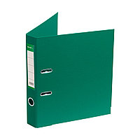 "Папка–регистратор Deluxe с арочным механизмом, Office 2-GN36 (2"" GREEN), А4, 50 мм, зеленый"