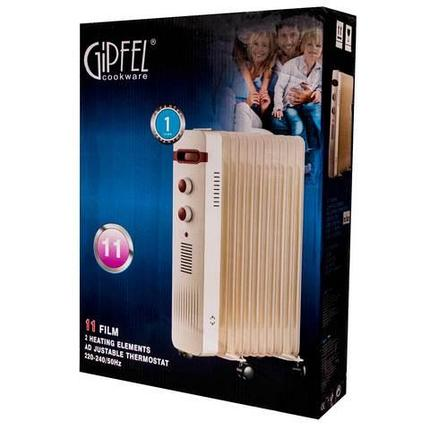 Обогреватель-радиатор масляный GIPFEL [2500 W] (13 секций), фото 2