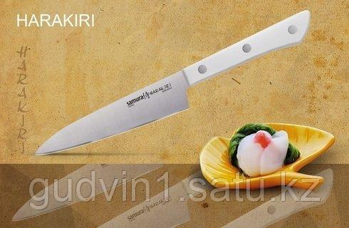 """Нож кухонный универсальный """"Samura HARAKIRI"""" 120 мм W"""