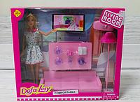 Кукла с гостинной 29 см. Defa Lucy, мебель куклы