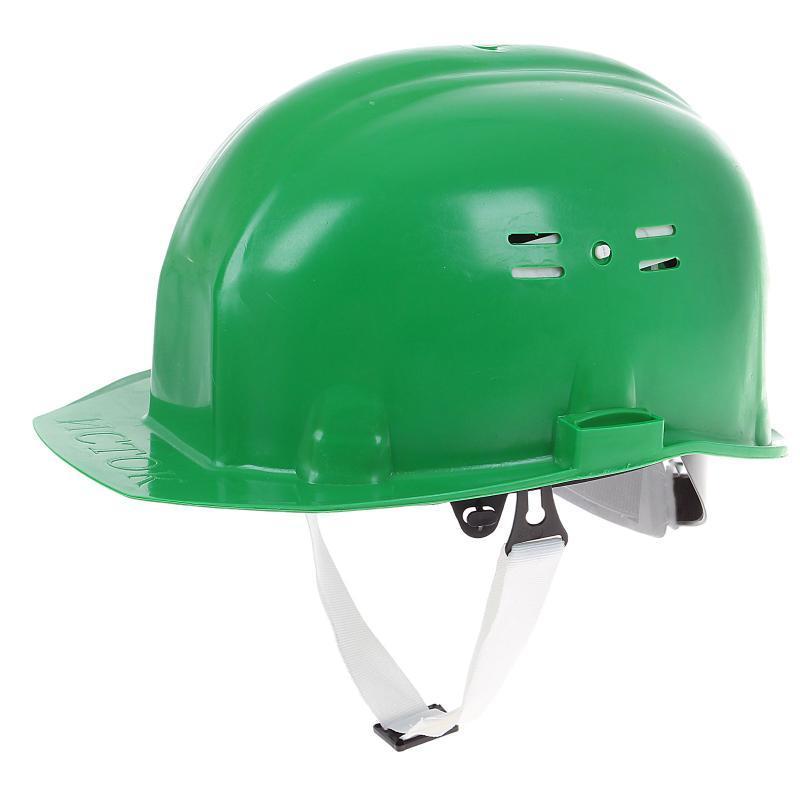 """Каска рабочая """"Исток"""" зеленая"""