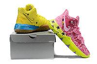 """Игровые кроссовки Nike x Nikelodeon Kyrie 5 """"Spongebob/Patrick"""" (40-46), фото 4"""