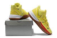 """Игровые кроссовки Nike x Nikelodeon Kyrie 5 """"Spongebob"""" (32-46), фото 3"""