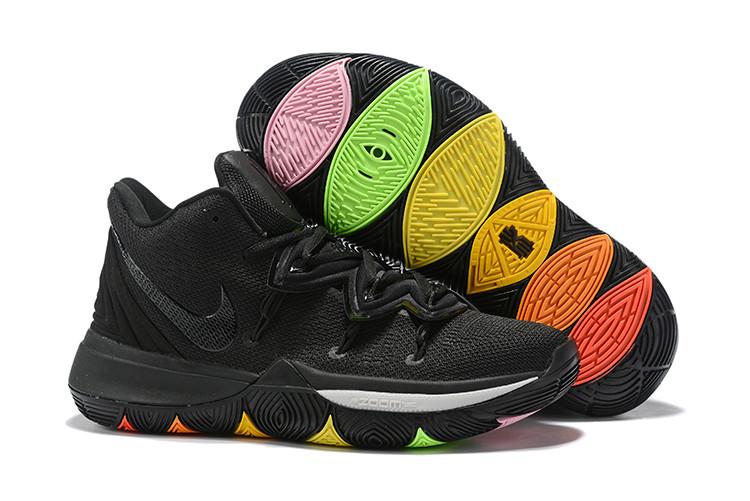 """Игровые кроссовки Nike Kyrie 5 """"Rainbow Soles"""" (32-46)"""