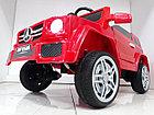Красный электромобиль на гелевых колесах Гелендваген 4WD! Mercedes G55AMG! Машинка! Электрокар!, фото 10