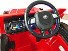 Красный электромобиль на гелевых колесах Гелендваген 4WD! Mercedes G55AMG! Машинка! Электрокар!, фото 9