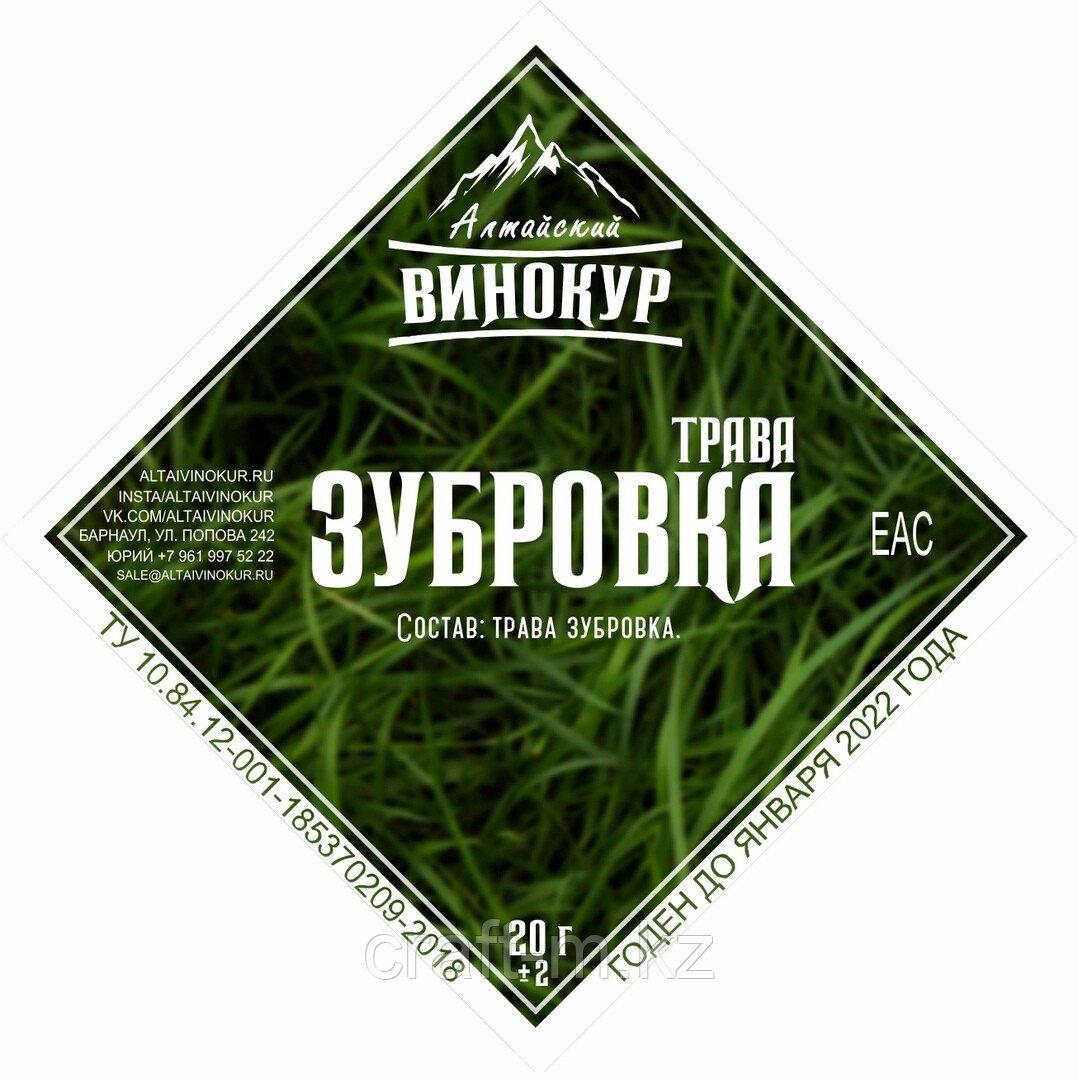 Зубровка (трава)