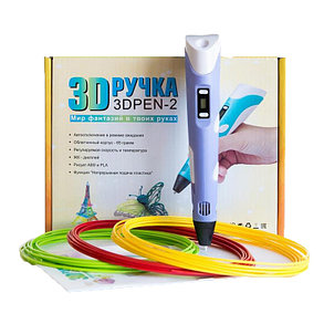 Ручка для рисования 3D PEN 2 поколения с LCD дисплеем, фото 2
