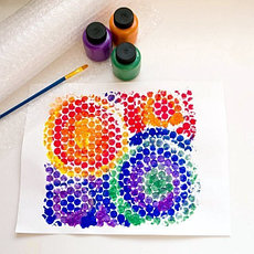 Акриловые краски художественные