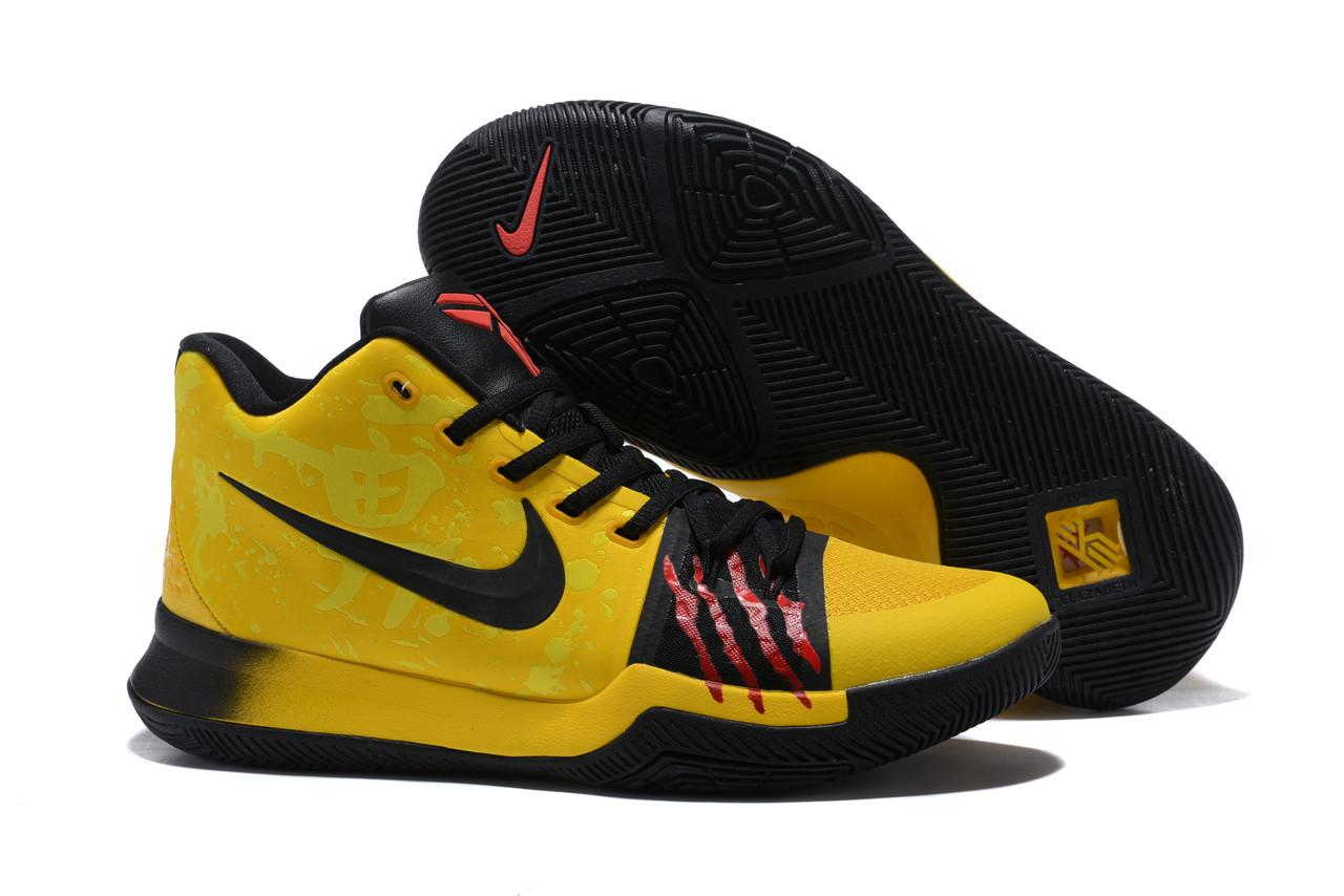 """Игровые кроссовки Nike Kyrie III """"Bruce Lee"""" (40-46)"""