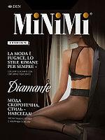Колготки Minimi Diamante 40 ден с ажурным поясом, 5 оттенков