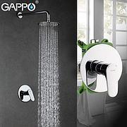 Gappo G7101 Душевой комплект со встроенным смесителем с 1-функцией хром
