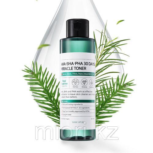 Тонер для проблемной кожи Some By Mi AHA-BHA-PHA 30 Days Miracle Toner water fresh