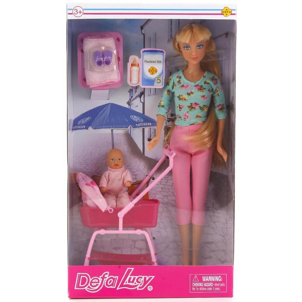 Defa Lucy Кукла (29см) с пупсом и аксесс в ассортименте