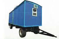 Передвижной вагончик на шасси
