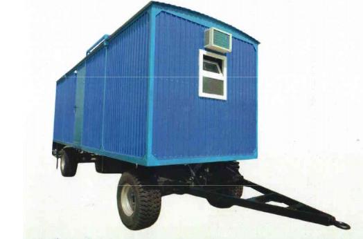 Передвижной вагончик на шасси - фото 1