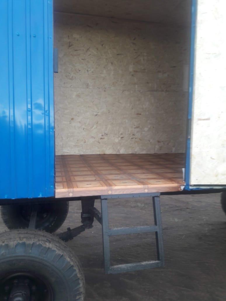 Передвижной вагончик на шасси - фото 4