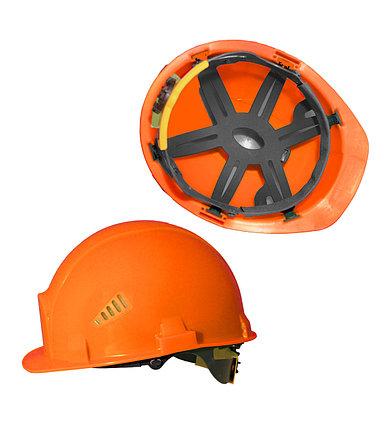 Каска промышленная Rapid оранжевая, фото 2