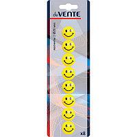 """Набор магнитов Devente 8шт. d20mm """"Smile"""" желтые # 6021500"""