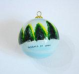 Новогодний елочный шар. Муранское стекло. Ручная работа. Италия, фото 2