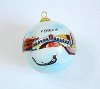 Новогодний елочный шар. Муранское стекло. Ручная работа. Италия