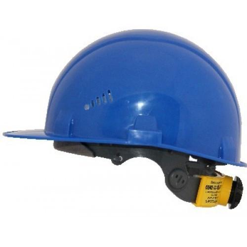 Каска промышленная Rapid синяя