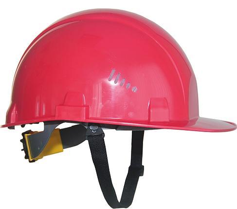 Каска промышленная Rapid красная, фото 2