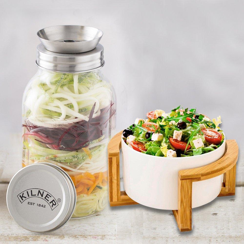 Бамбуковая подставка для салатников Wilmax 24,5 х 11см