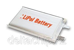 ACC 3.7V 65mah  LP451124 Li-Po аккумулятор.