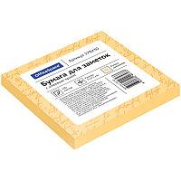 Бумага для заметок с клейким краем 75x75 100л. оранжевый OfficeSpace 178230