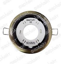 Светильник встраиваемый GX53 220 В 50 Гц бронза  ( с термокольцом) Фарлайт
