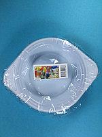 Тарелка одноразовая белая 500 мл (суповая) 5 шт/уп Sherdin, фото 1