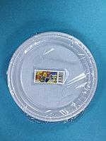 Тарелка одноразовая белая 210 мм С-1 5 шт/уп Sherdin, фото 1
